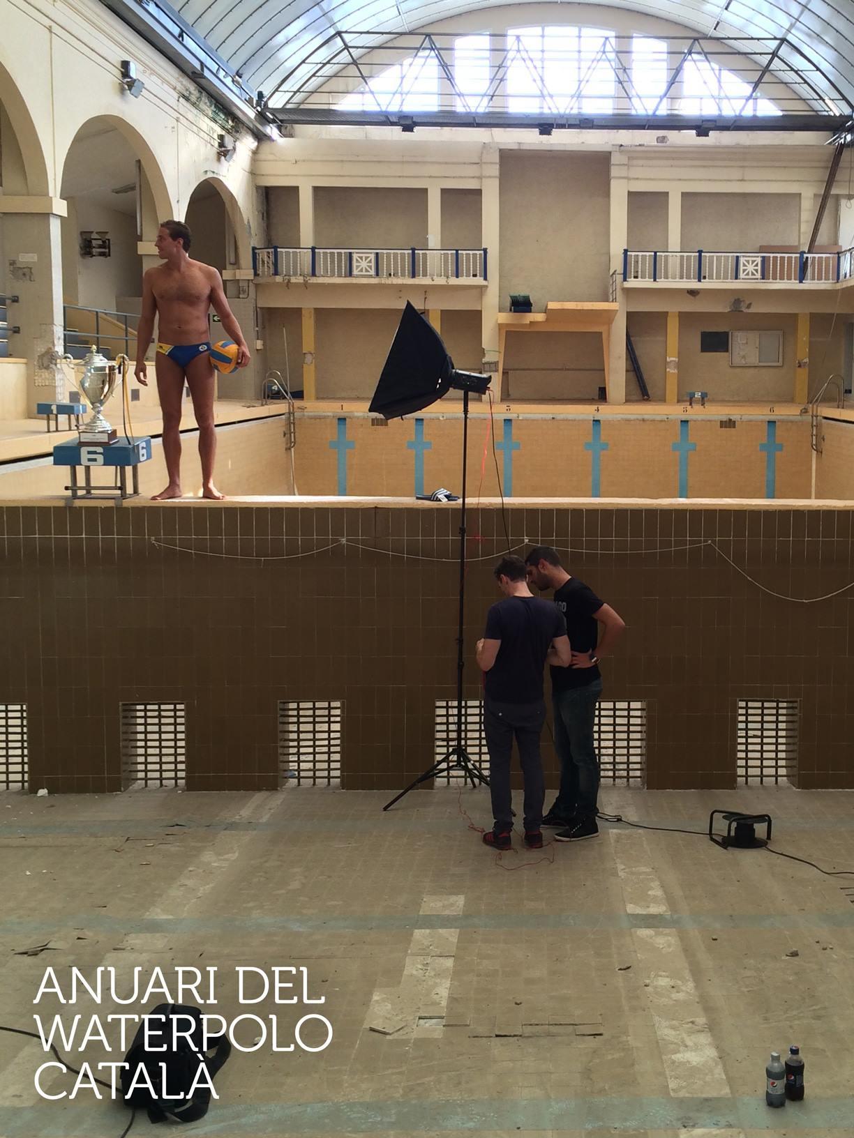 Anuari Waterpolo Català 2015 - Albert Español i Maica Garcia
