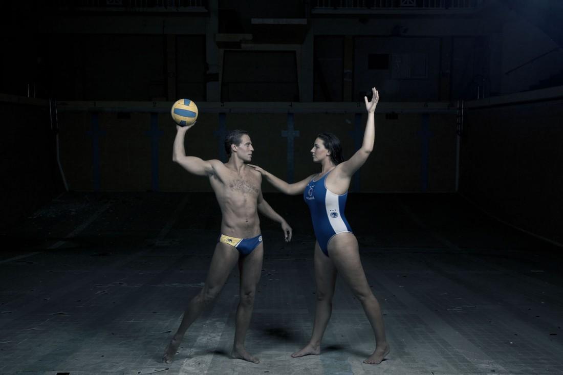 Anuari Waterpolo Català 2015 - Albert Español i Maica García