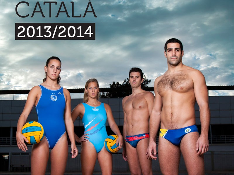 Making off Portada Anuari Waterpolo Català 2013-14