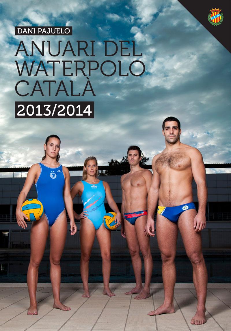 Making off Portada Anuari Waterpolo Català 2014
