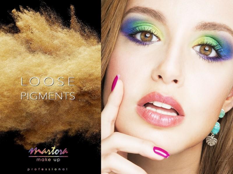 Martora Make up Loose pigments - Summer 2015