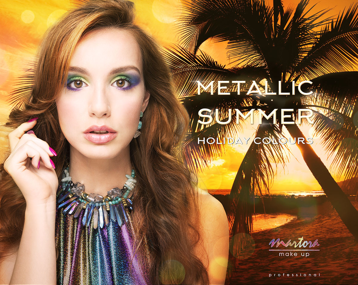 Martora Make up Matellaic Summer 2015