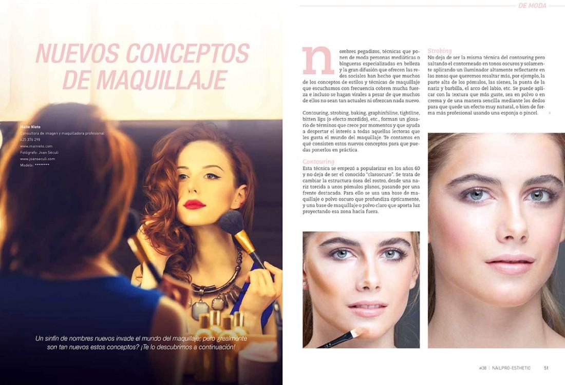 NAIL Pro Esthetic magazine - Joan Sèculi